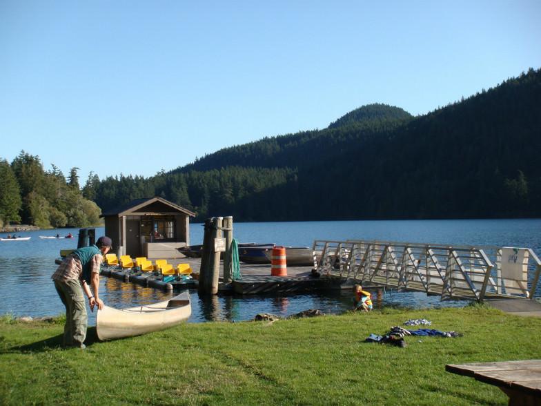 Cascade Lake, Moran State Park in Washington State