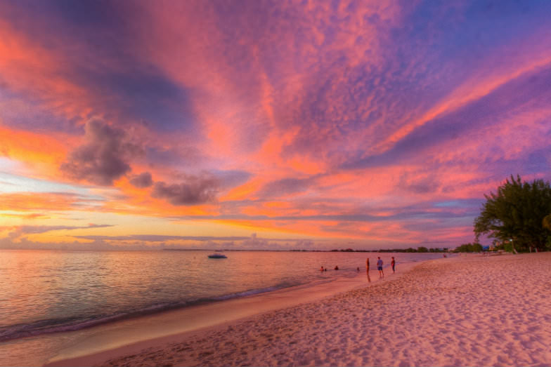 Sunset in Grand Cayman