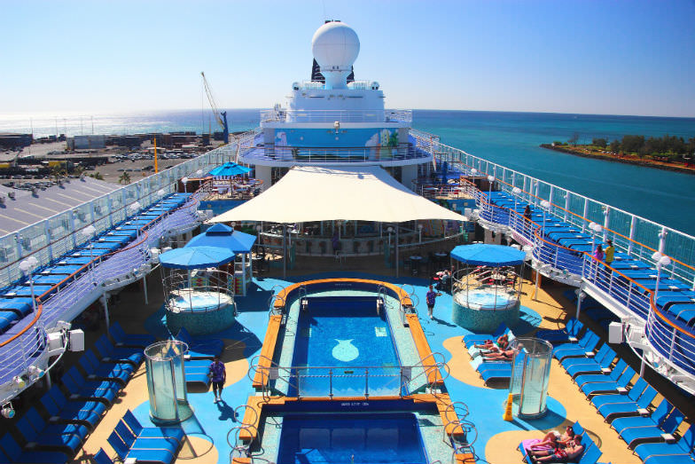 Aboard Norwegian Cruise Line's kid-friendly Pride of Americ