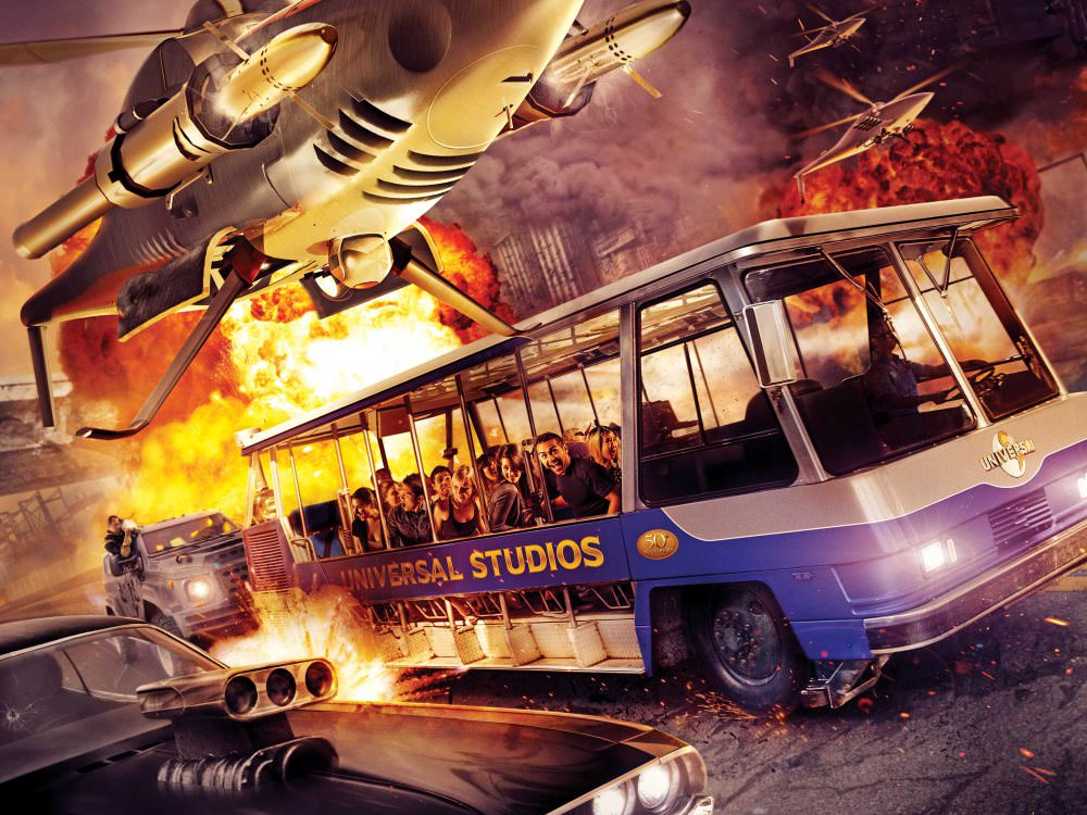 """Fast & Furious - Supercharged"" at Universal Studios Hollywood"