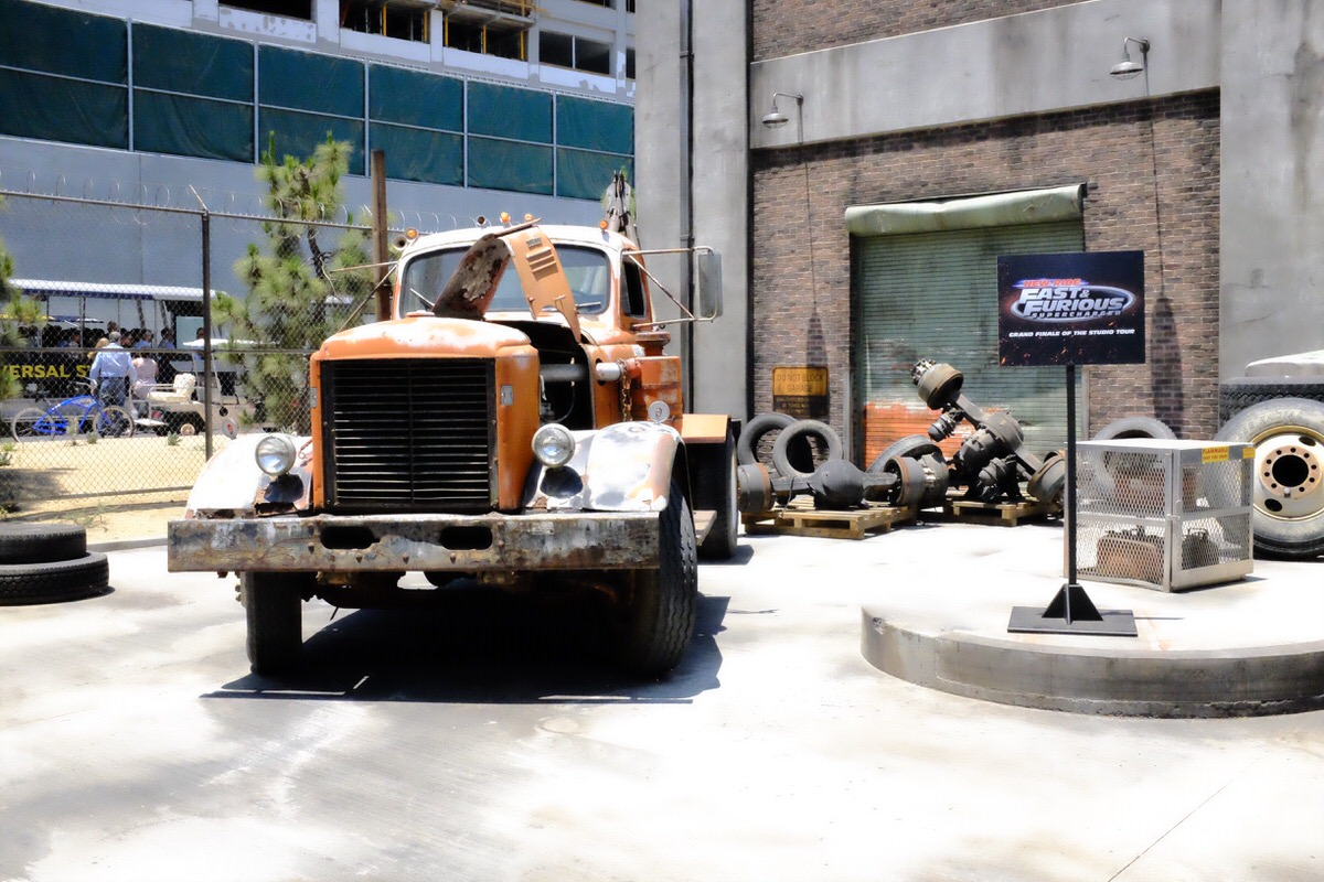 """""""Fast & Furious - Supercharged"""" ride entrance."""