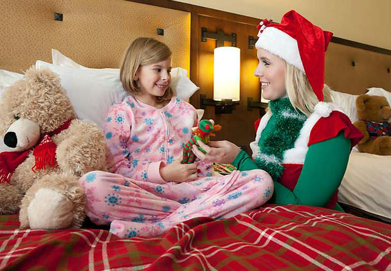 Let the kids enjoy festive activities like the Elf Tuck-In at the JW Marriott San Antonio Hill Country.