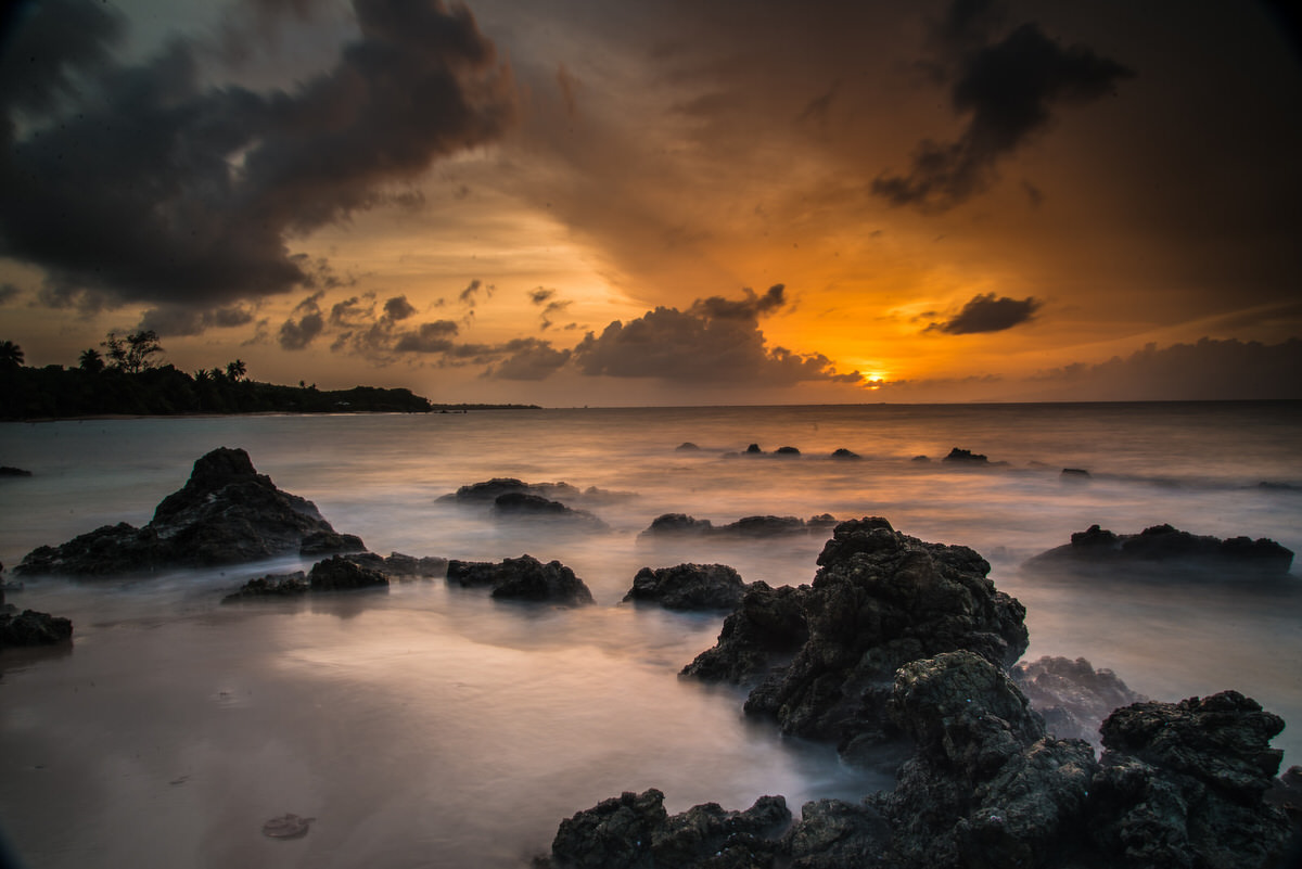 Sunset at Vieques
