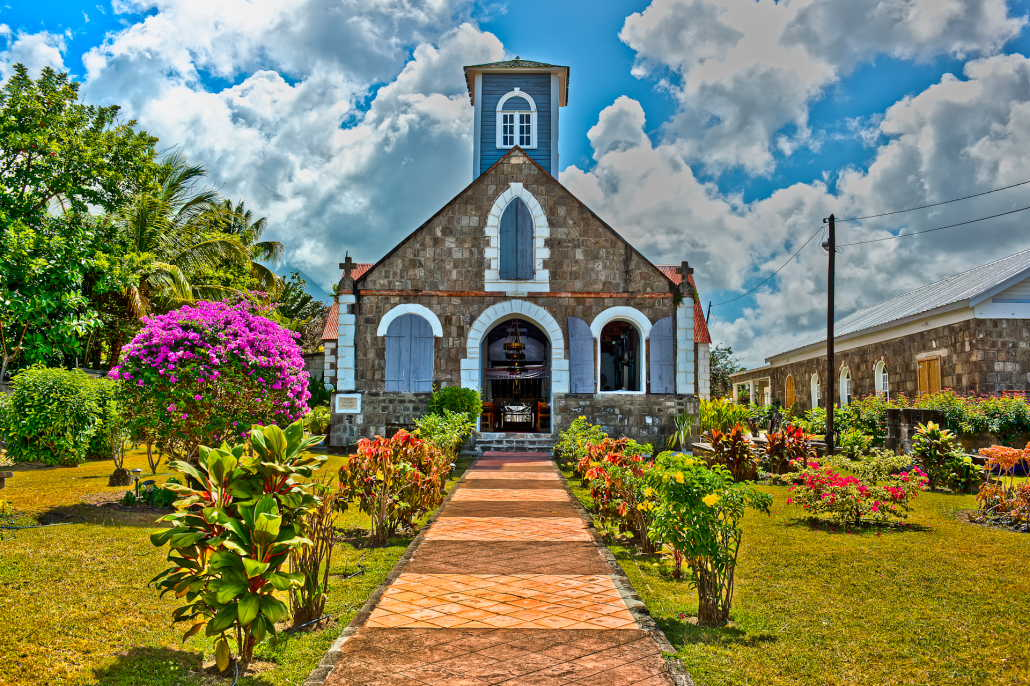St. Paul's Anglican Church in Nevis