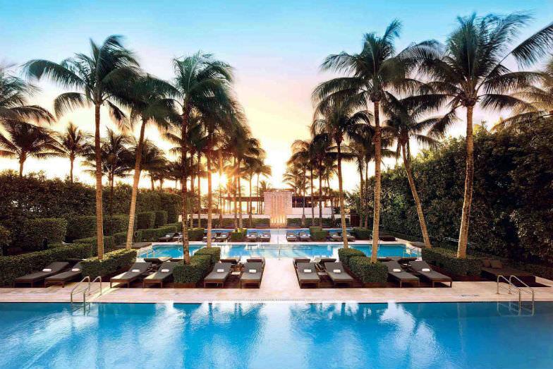Pool at the Setai Miami Beach
