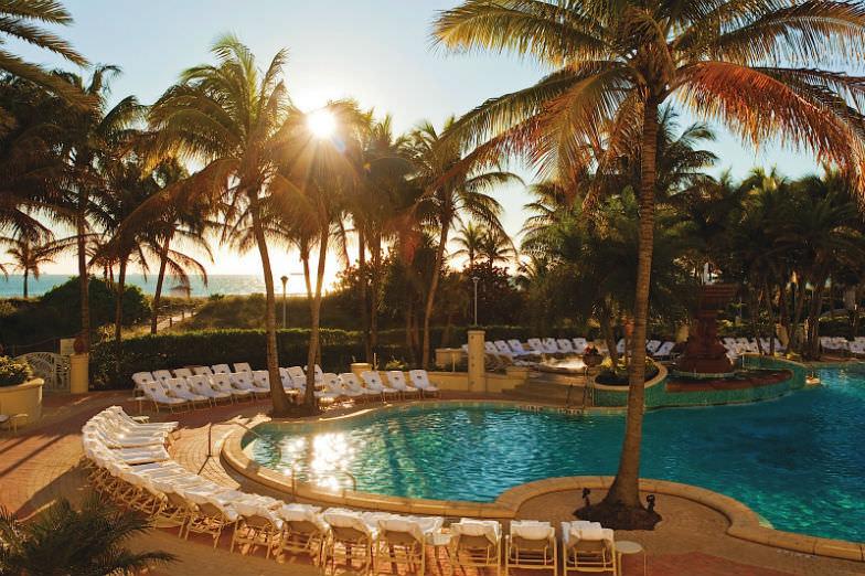 Sunset at Loews Hotel Miami Beach