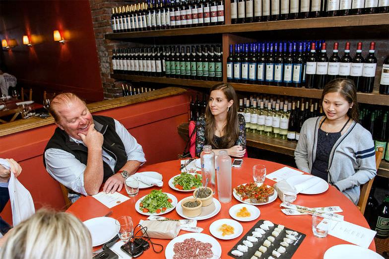 Mario Batali Food Walking Tour