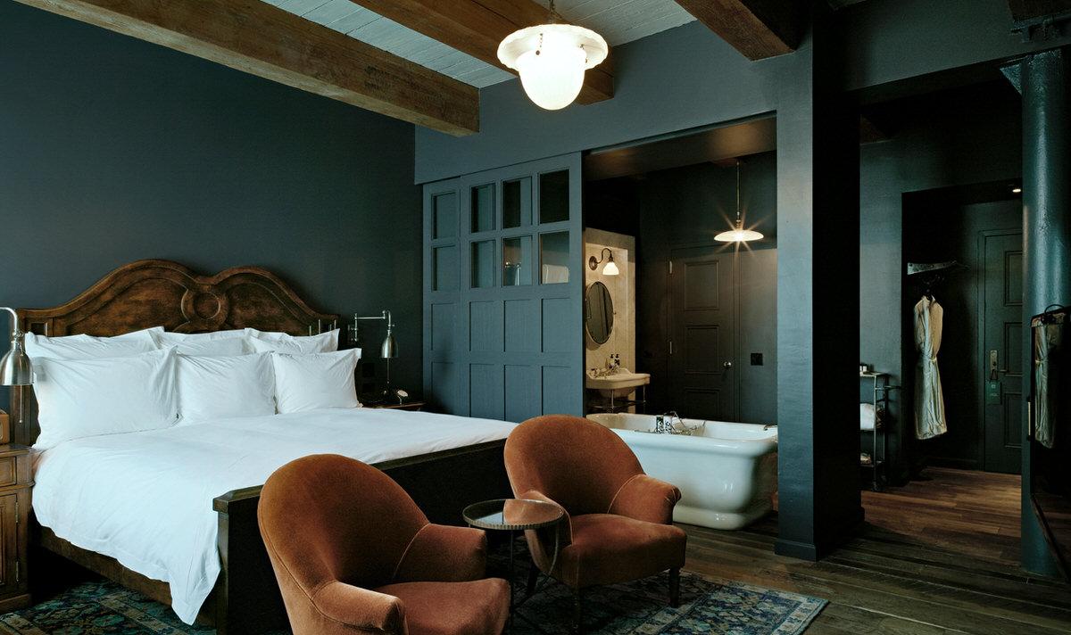Splurge in vintage luxury at Soho House in New York.