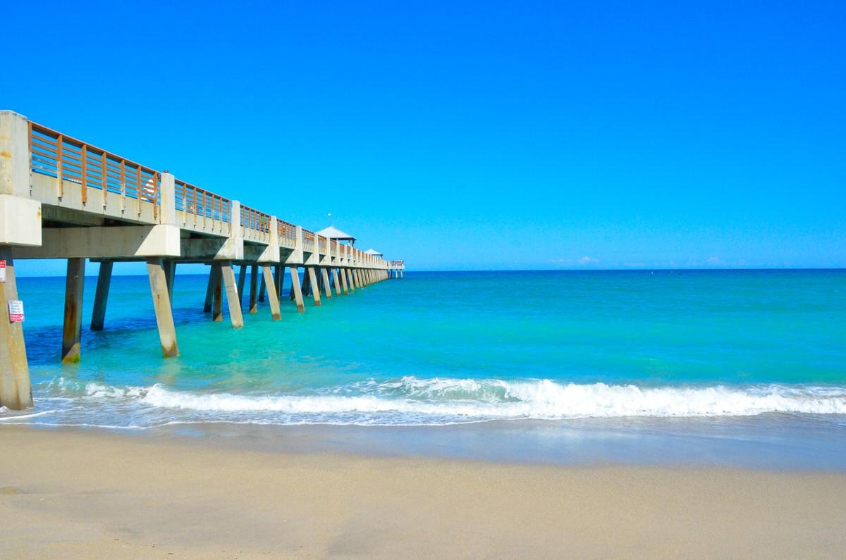 Jupiter Beach is one of Florida's best beaches.
