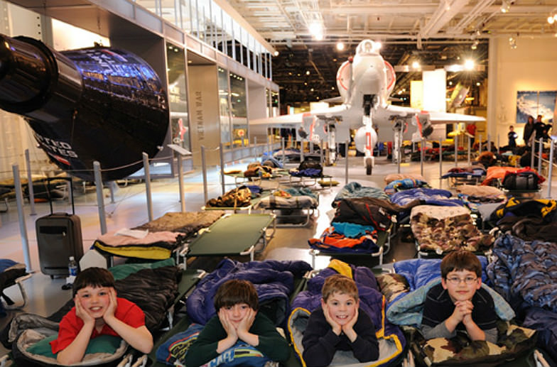 Operation Slumber at the Intrepid Sea, Air & Space Museum