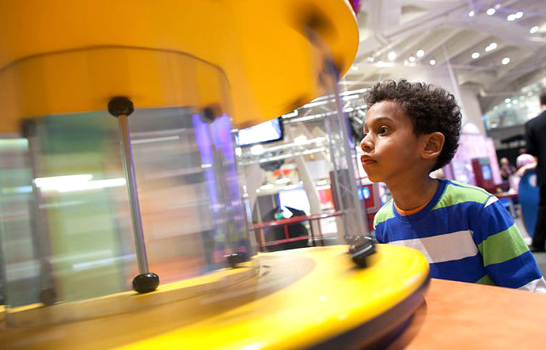 Sleepover at the New York Hall of Science