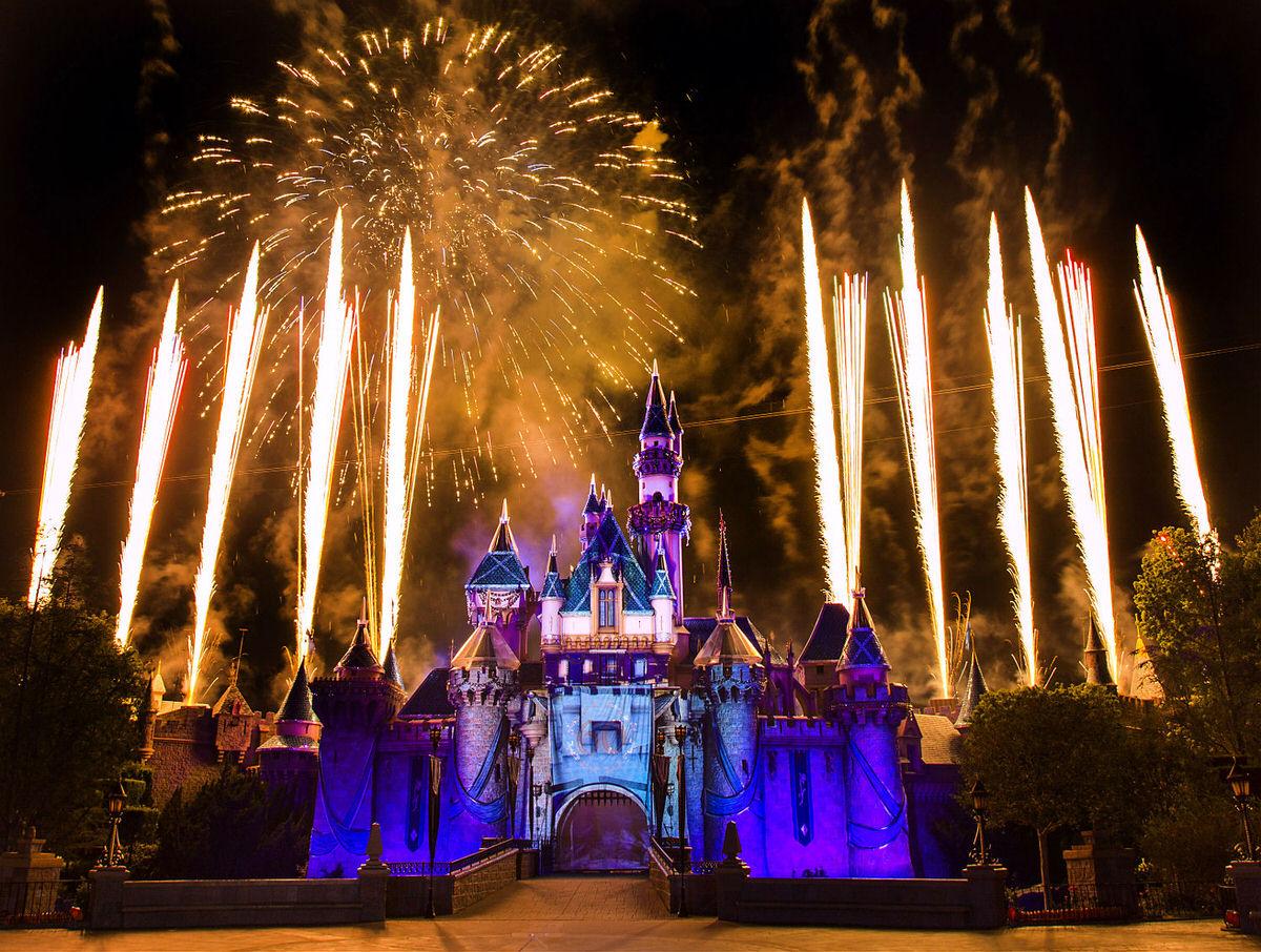 Disneyland Park in Anaheim