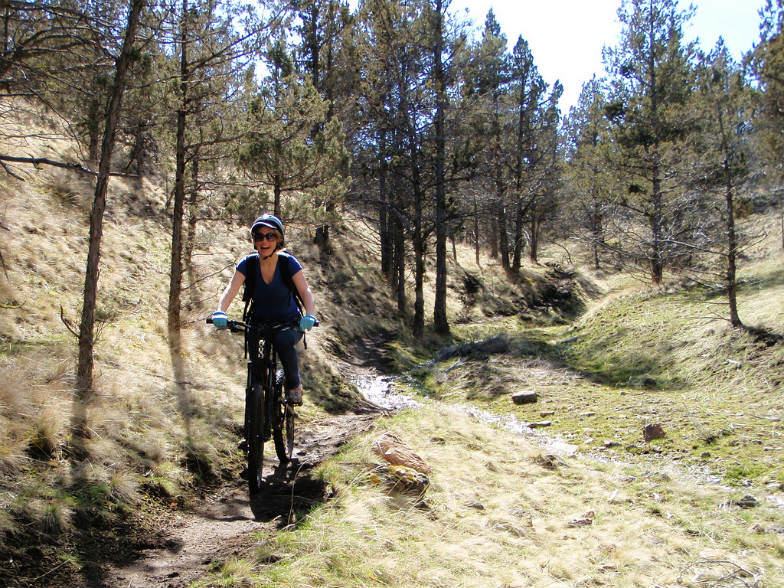 Mountain biking in Bend, Oregon