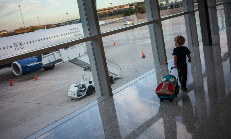 Pack fun games and activities for drives, flights, or long airport waits.