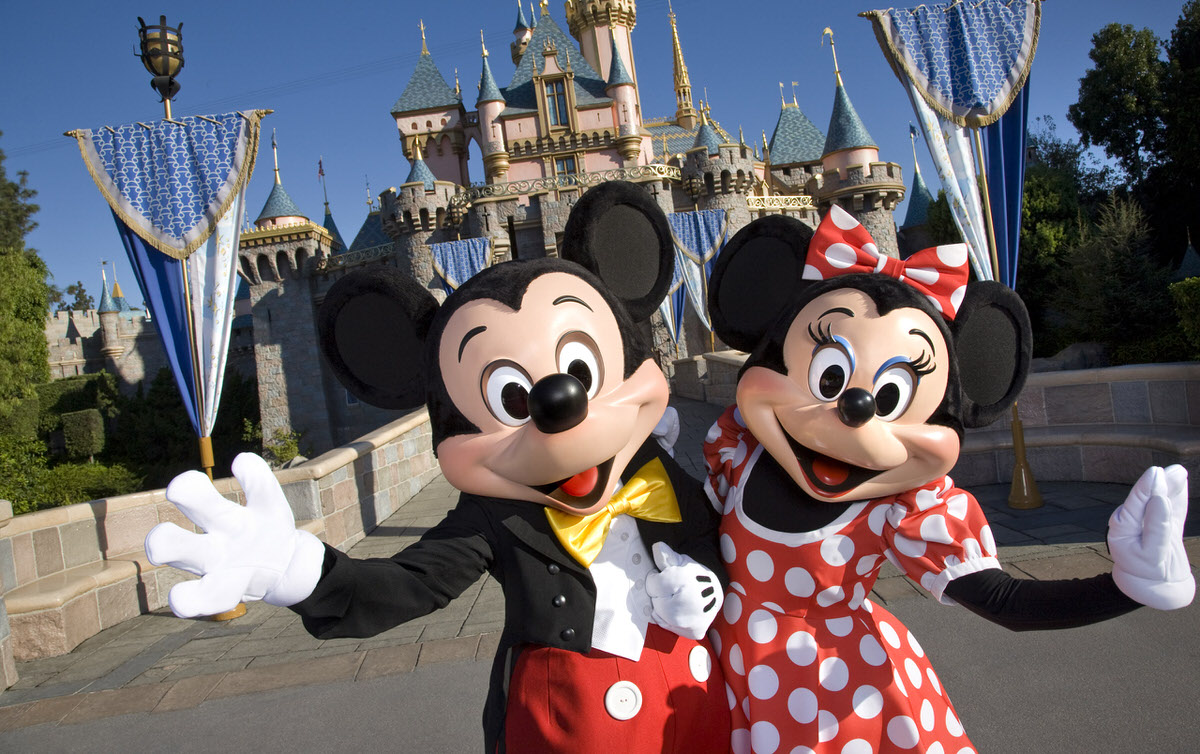 Disneyland in Anaheim, California