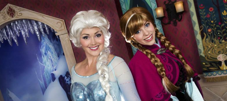 Frozen Fun at Disney's California Adventure