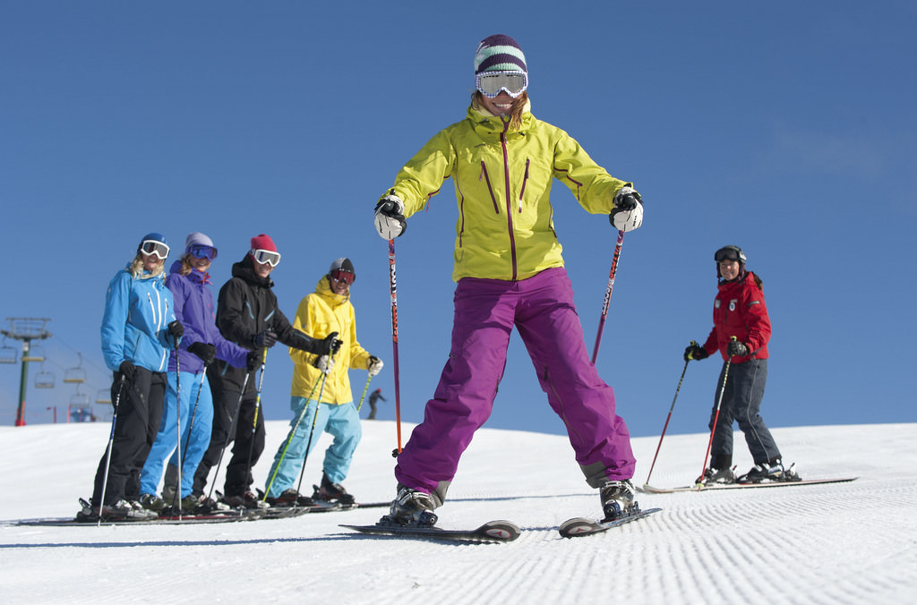 A ski vacation is a fantastic option for a family vacation with teens.