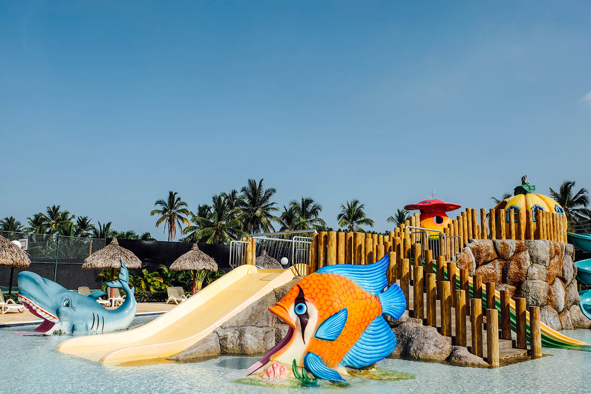 Bahia Scouts Water Park at the resort