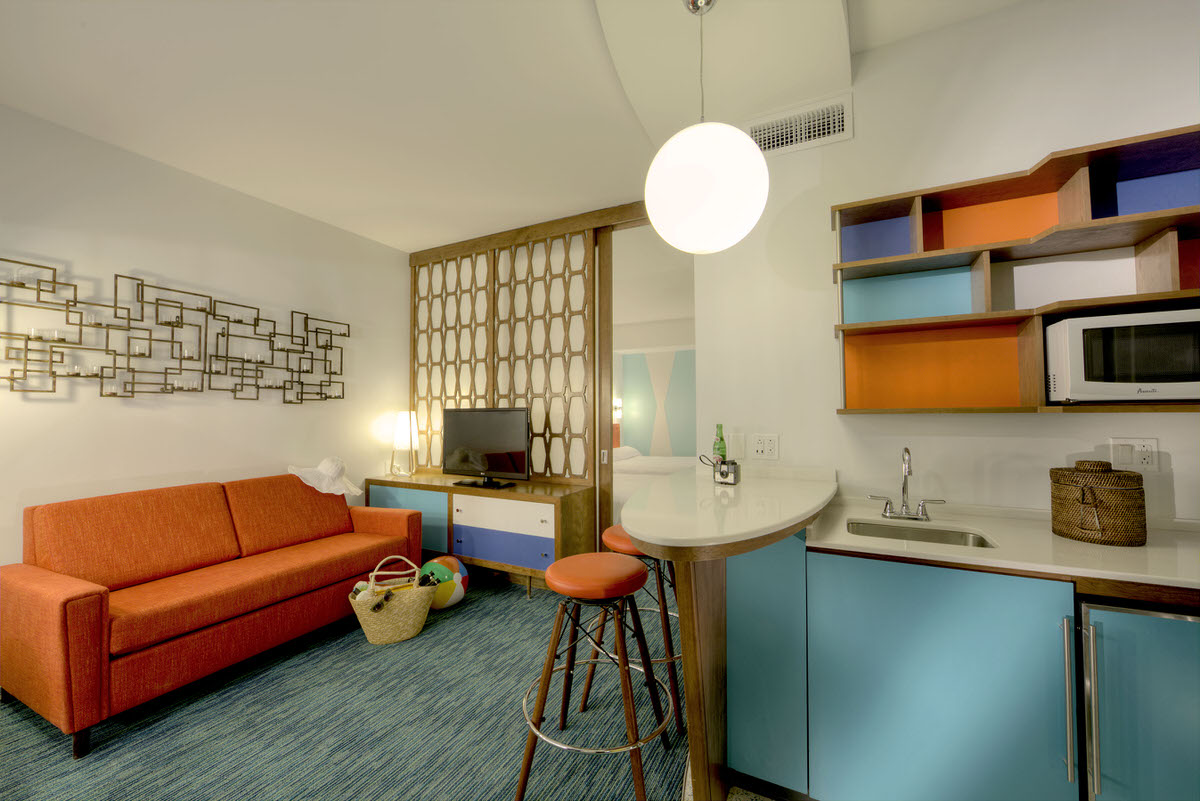 Family suite at the Cabana Bay Beach Resort