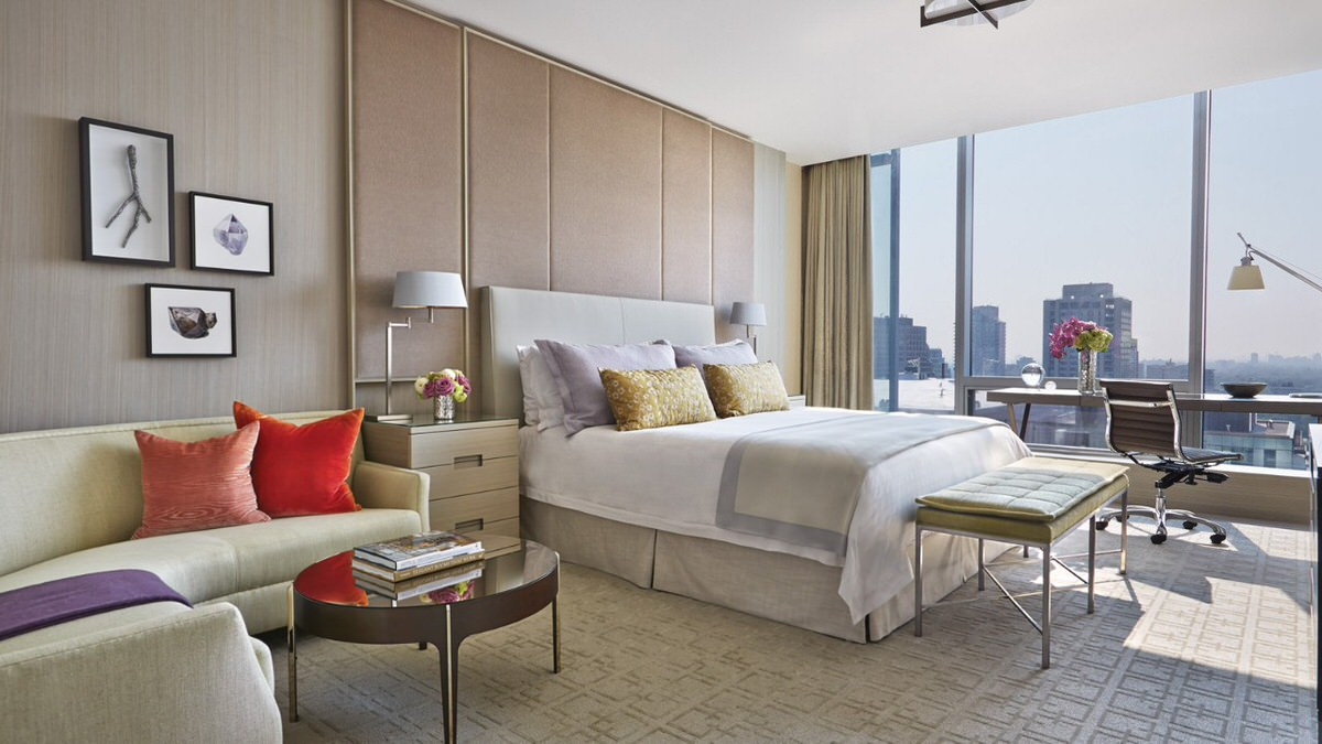 Four Seasons Toronto is a luxurious family-friendly hotel in Toronto with incredible views and kid-friendly amenities.