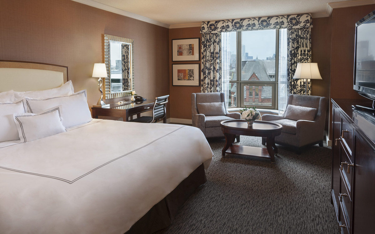 The kid-friendly Intercontinental Yorkville is a good value for any family visiting Toronto with kids.