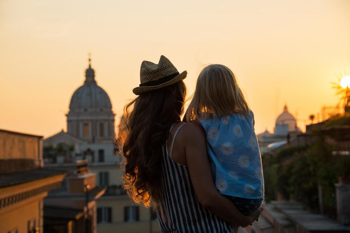 In Rome with kids