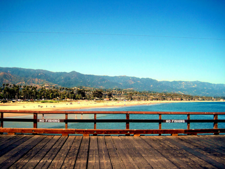 Wharf in Santa Barbara