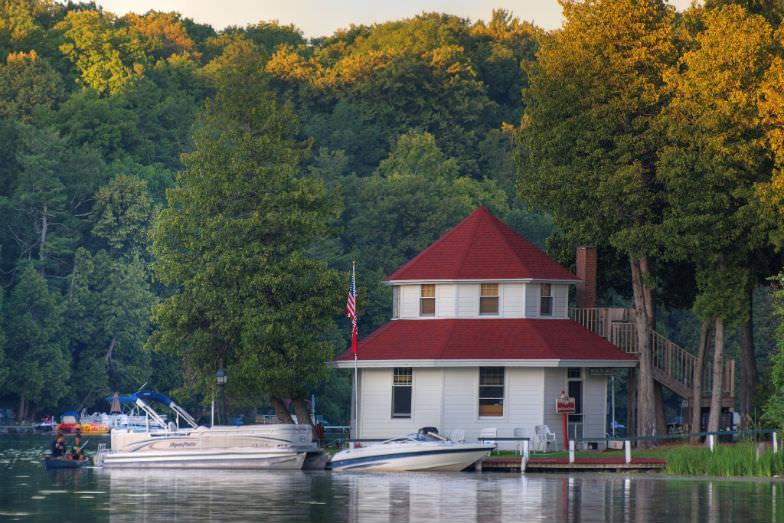 Elkhart Lake in Wisconsin