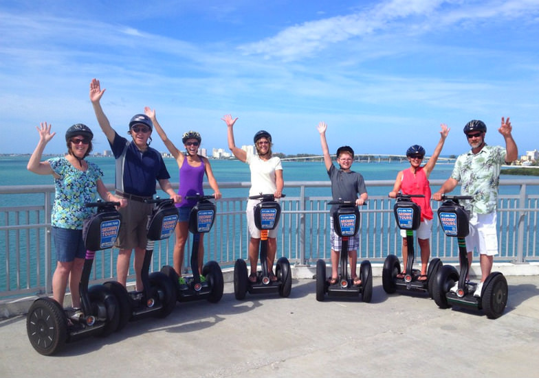 Explore Clearwater Beach on segways