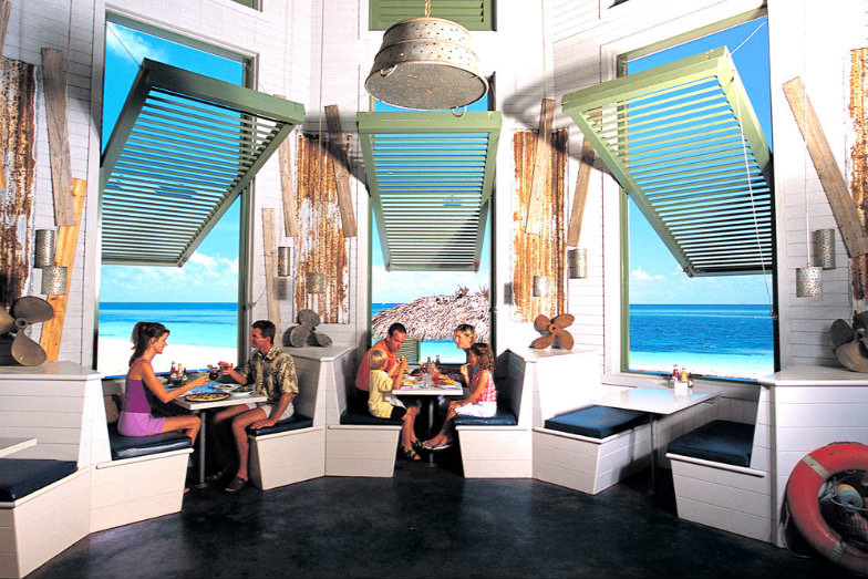 Dine with the Kids at Grand Lucayan