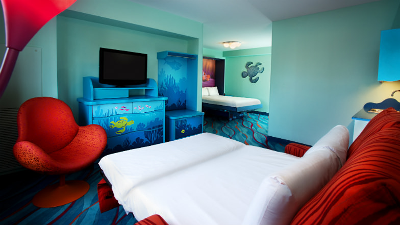 Disney's Art of Animation Resort is perfect for large families.