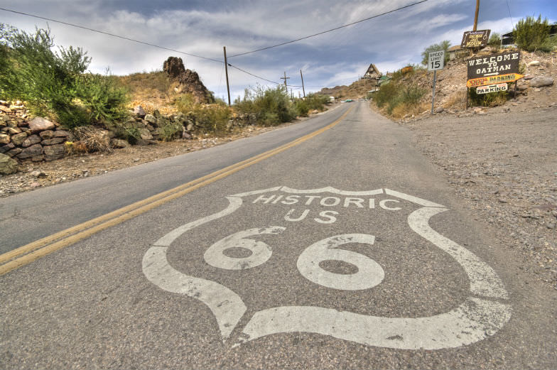 Route 66 is a great road trip idea for the family.