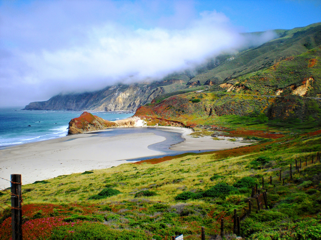 Big Sur, CA on State Route 1