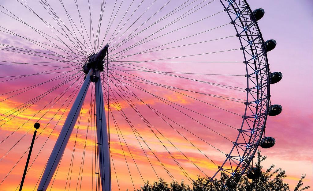 London Eye in London