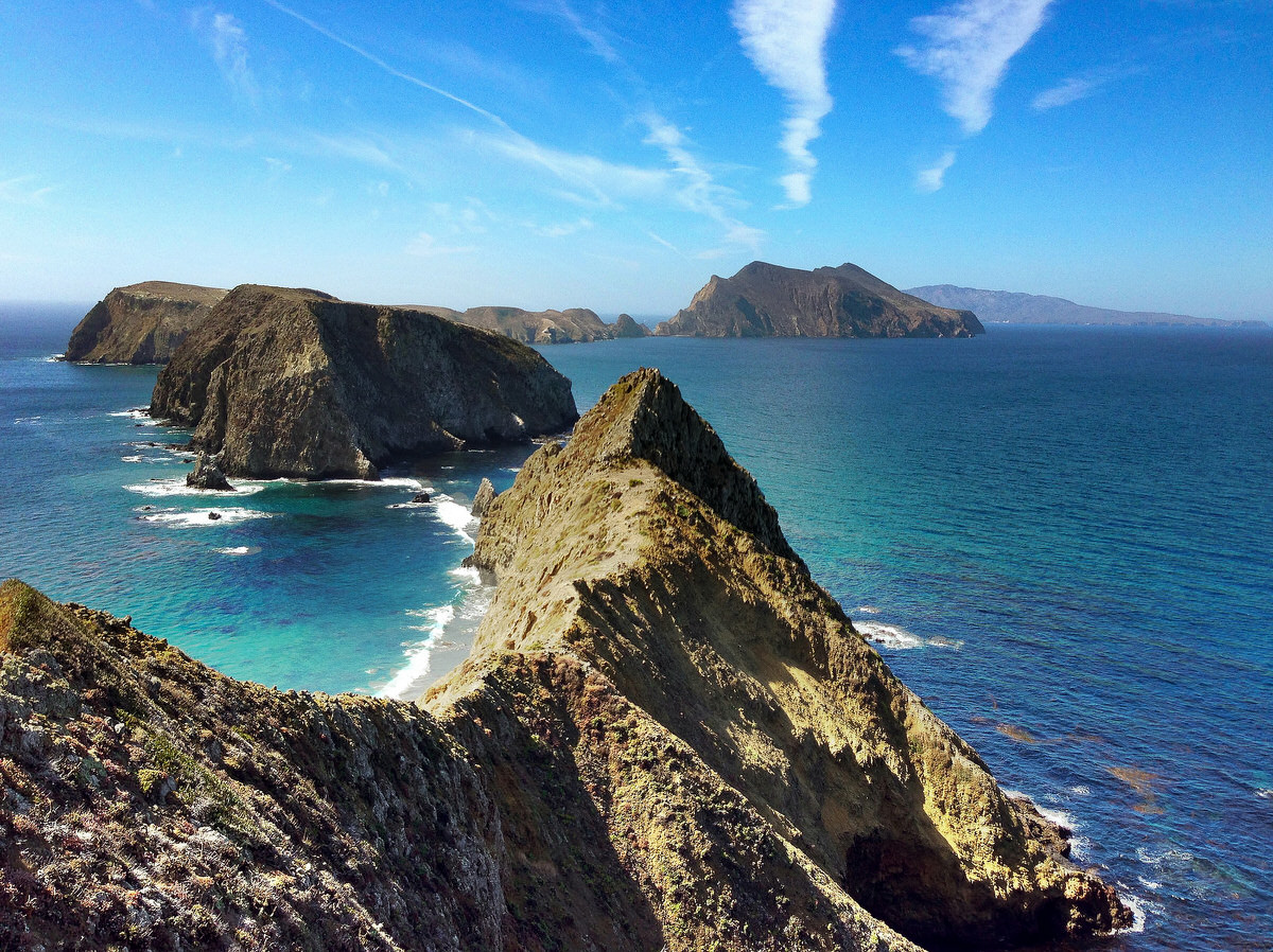 The Channel Islands National Park is one of Ventura's kid-friendly spots.