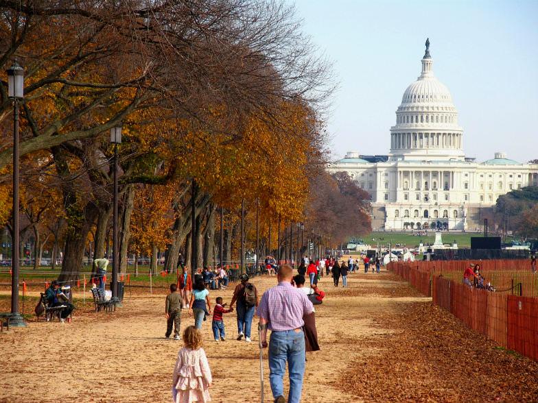 Washington DC in the Fall