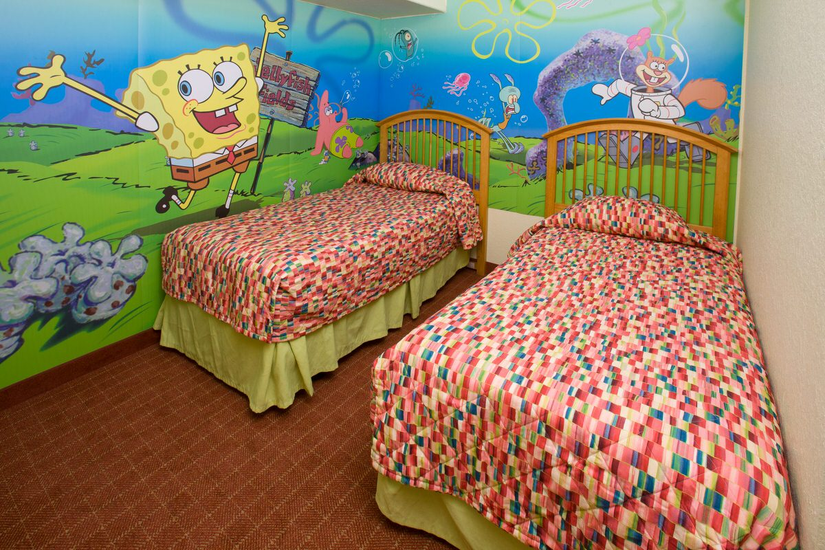 Spongebob Squarepants Suite at Nickelodeon Suites Resort