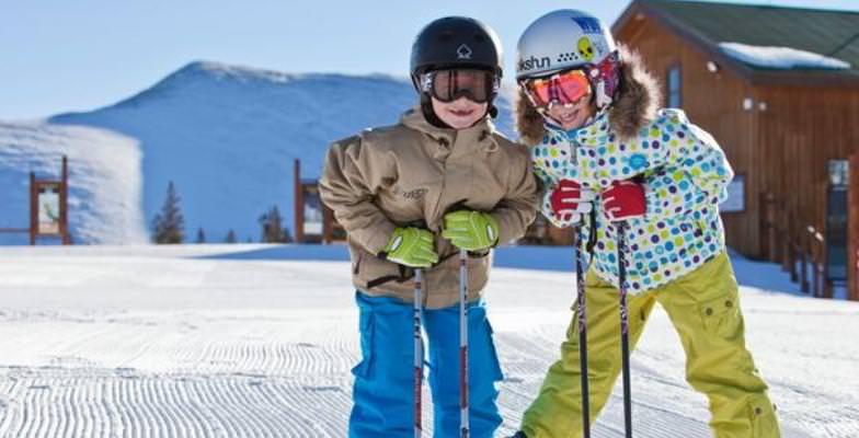 late-season skiing: Keystone