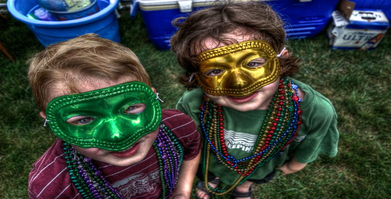 Mardi Gras with Kids
