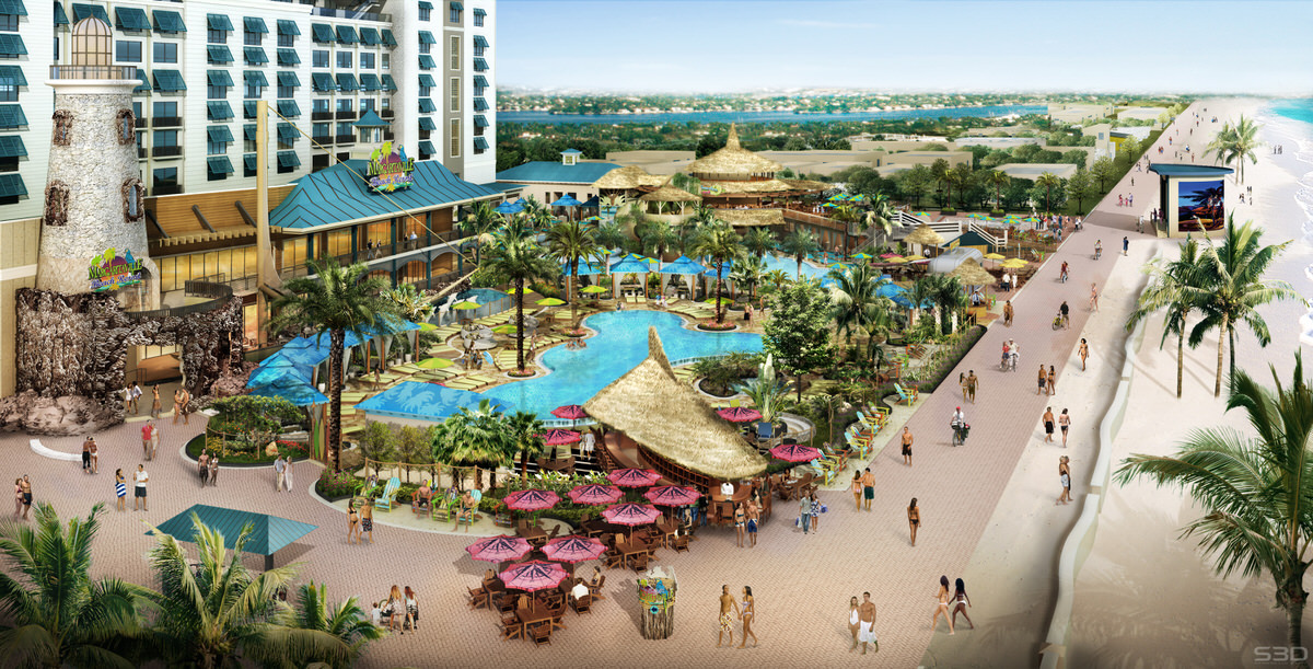 Margaritaville Hollywood Beach Resort opens this summer of 2015.