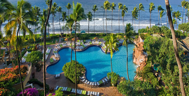 Maui hotel pools: Hyatt Regency Maui Resort & Spa