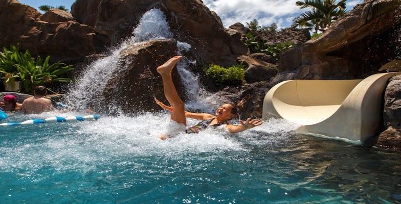 Maui hotel pools: Grand Wailea