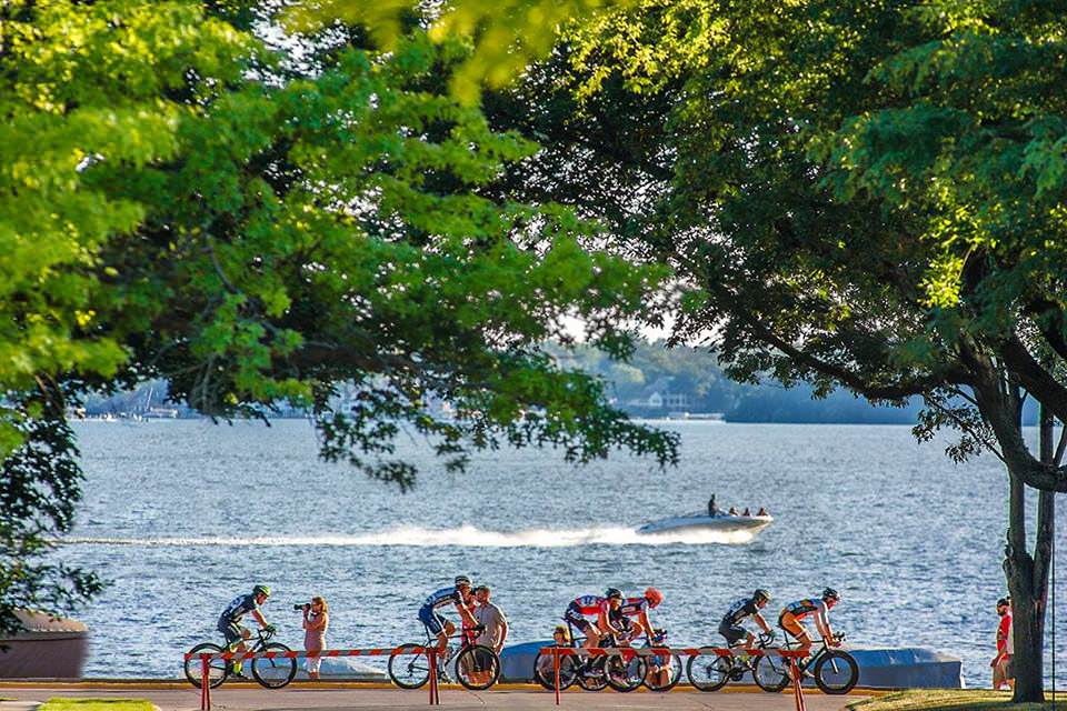 Iowa's Clear Lake is a fall haven for families.