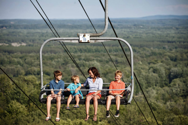 Wrap up the summer with chairlift rides at Crystal Mountain Resort.
