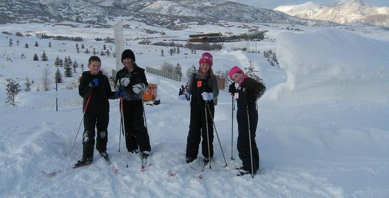 Cross Country Skiing Kids