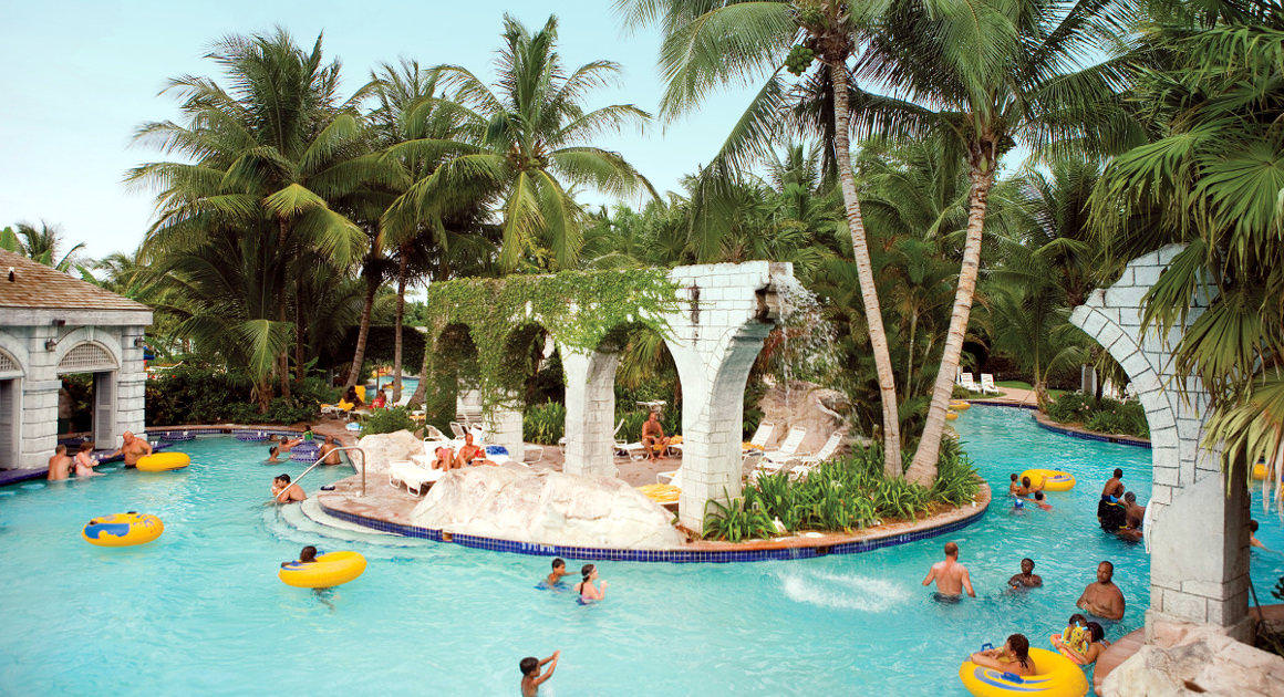 Sugar Mill Falls Water Park at Hilton Rose Hall Resort & Spa