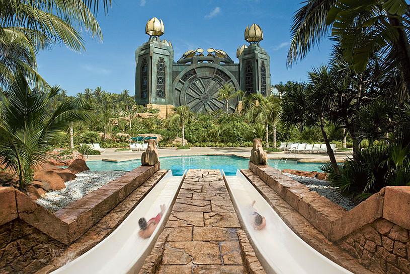 Mayan Temple Pool at Atlantis Paradise Island