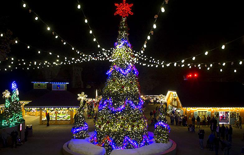 O Tannenbaum in Busch Gardens