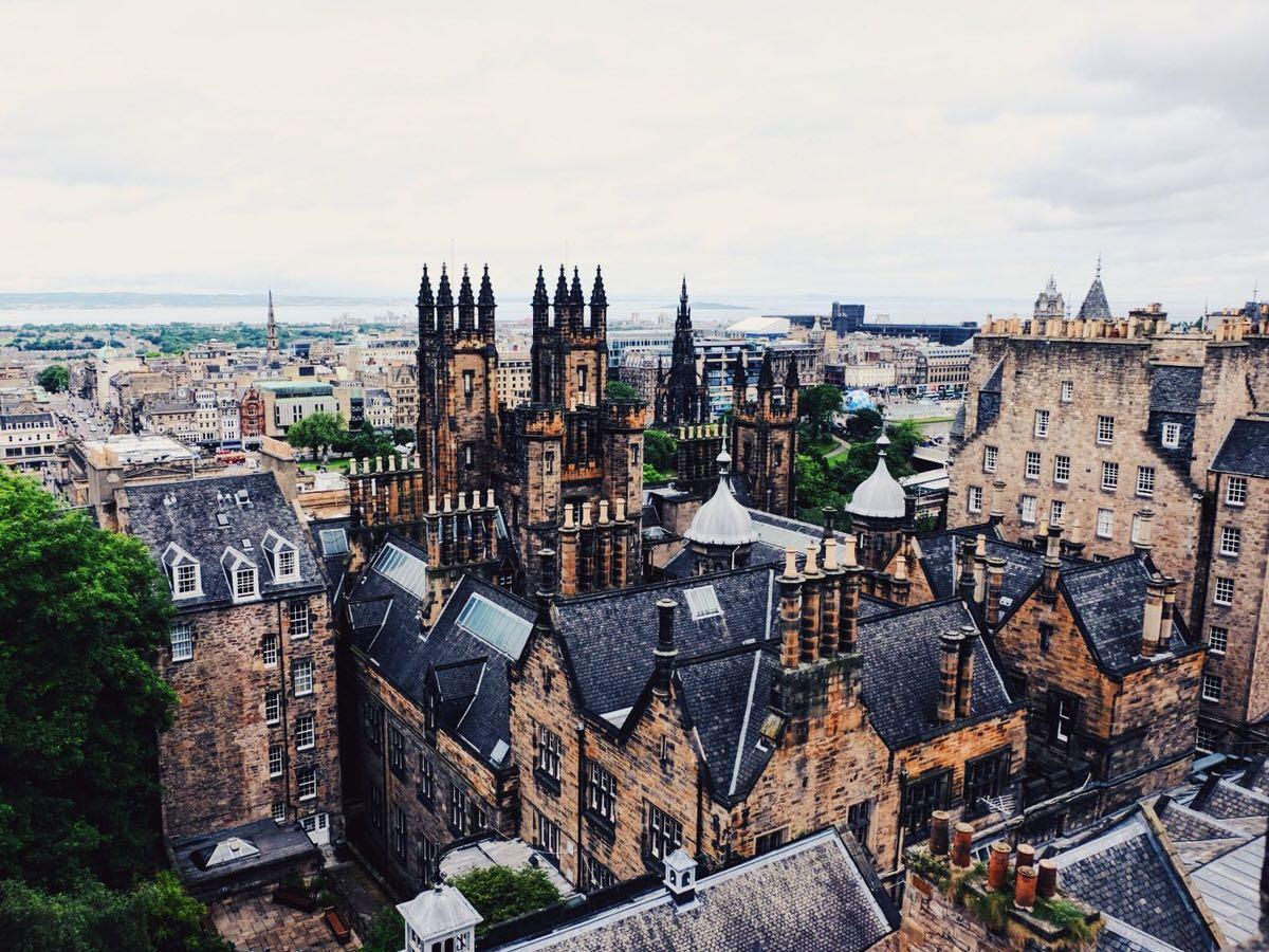 Edinburgh's magnificent skyline