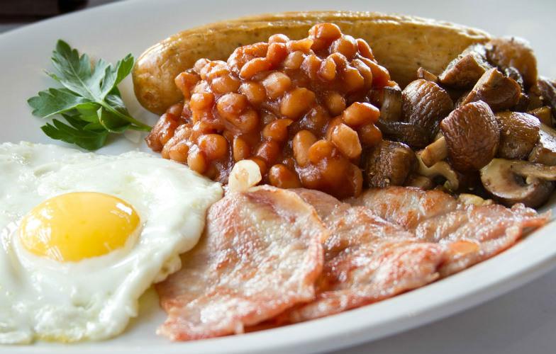 English breakfast at English's